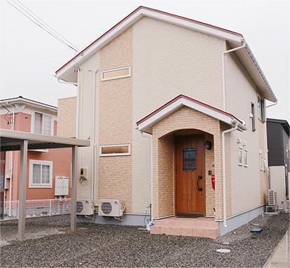 ヨーロピアンスタイルの家