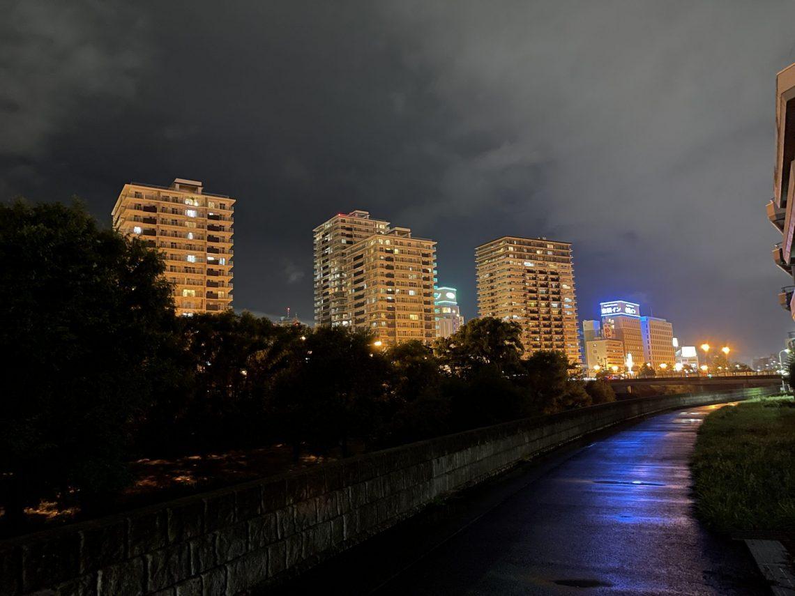盛岡の綺麗な夜景